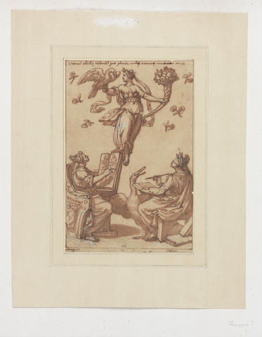 Roman School, 16th Century An Allegory of the Arts