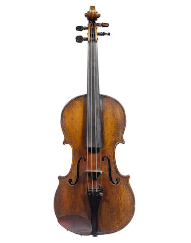 A Scottish Violin, attributed to Matthew Hardie, Edinburgh circa 1810 (4)