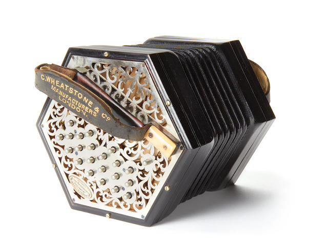 An English Concertina by Wheatstone & Co, London (2)