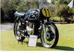 1957 Matchless G45 Racing Motorcycle Frame no. TBC Engine no. G45 184