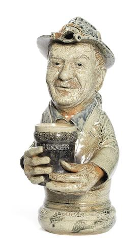 Dr Peter Meanley 'The Publican' a Salt-Glazed Toby Jug, 2012