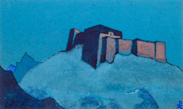 N. Roerich, drawing from 'Tibetian series'