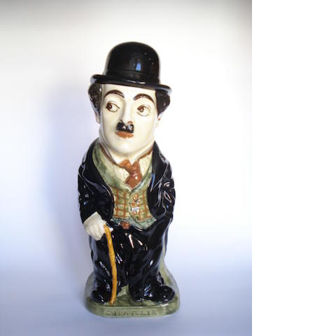 Doulton Burslem a Rare 'Charlie Chaplin' Standing Jug and Cover, 1918