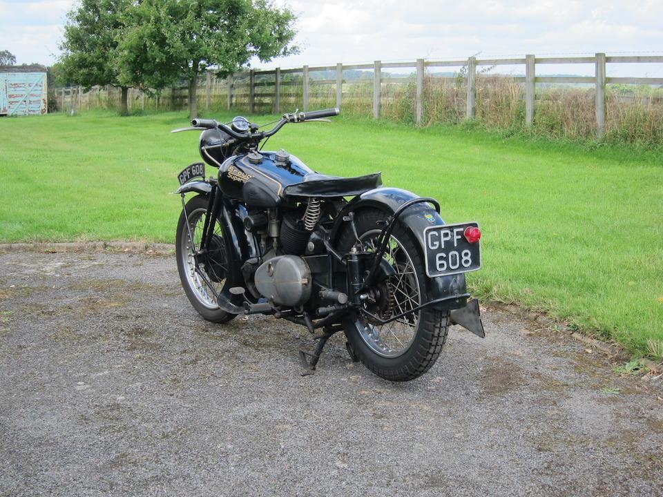 1938 Brough Superior 1,096cc 11-50hp Special Frame no. M8/1974 Engine no. LTZ059926/S