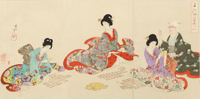 Yoshu Chikanobu (1838-1912) Dated 1894-1897