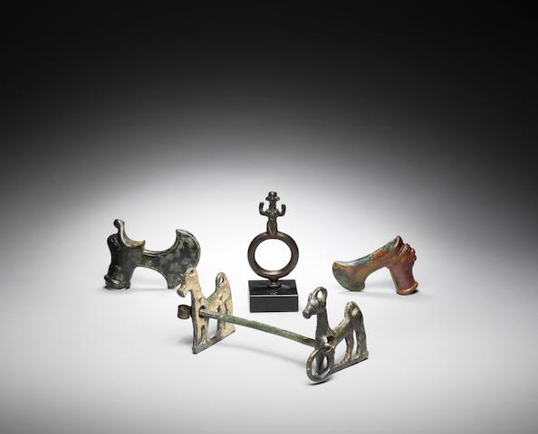 Four Luristan bronzes 4