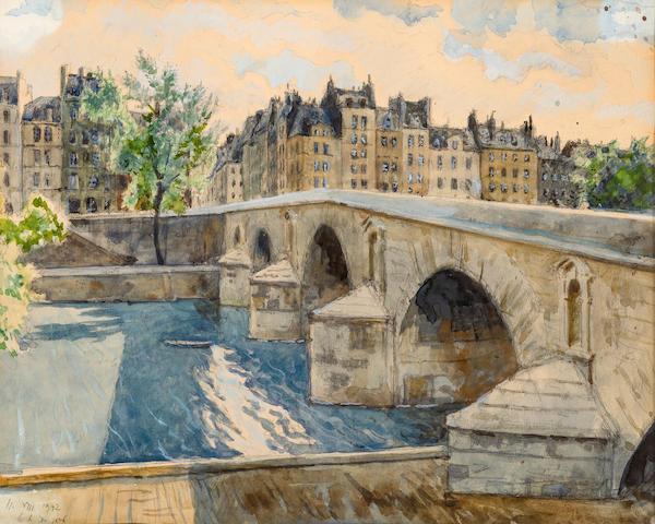 Alexander Benois, Le Pont Neuf, Paris