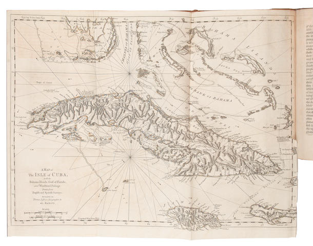 JEFFREYS (THOMAS) A Description of the Spanish Islands and Settlements on the Coast of the West Indies, 1762