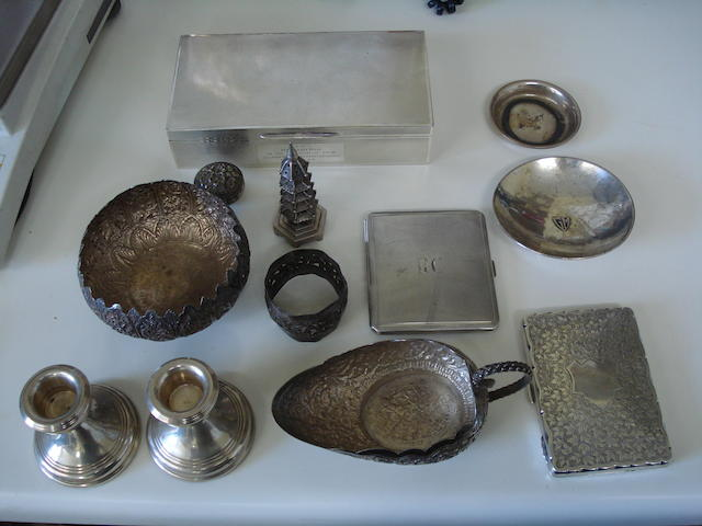 A collection of silver