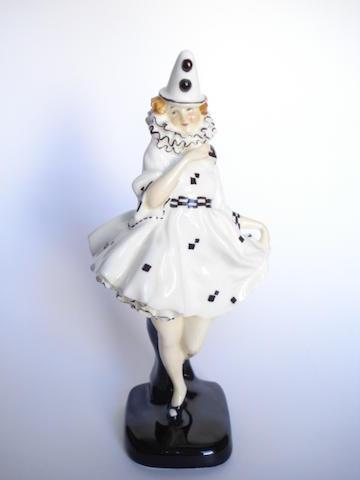 Doulton Burslem 'Pierrette' HN 644, 1924-38