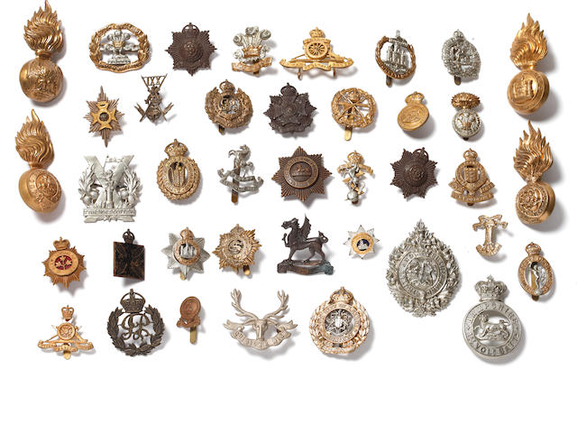 Good Quality British Military Headdress Badges