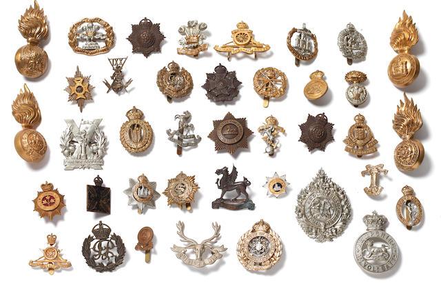 Good Quality British Military Headdress Badges