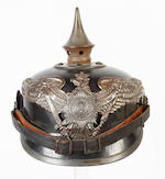 A Prussian Guard Infantry other Ranks Pickelhaube