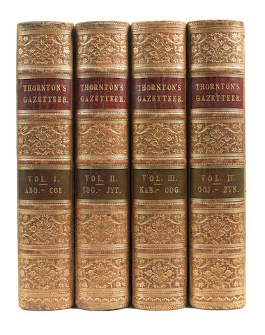 THORNTON (EDWARD) A Gazetteer of the Territories under the Government of The East India Company and of the Native States on the Continent of India, 4 vol., W. H. Allen, 1854; and one other (5)