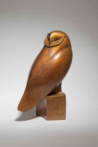 Robert Aberdein (born 1963) Barn Owl I 17cm high.