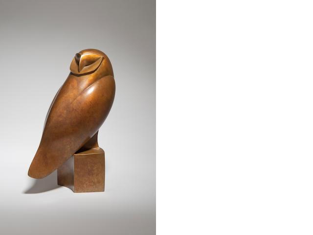 Robert Aberdein (born 1963) Barn Owl I 17cm high.
