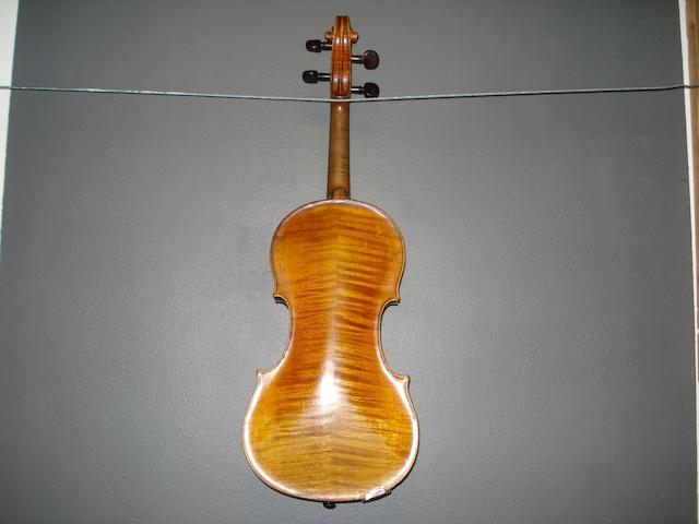 A French Violin of the Caussin School circa 1900  (4)