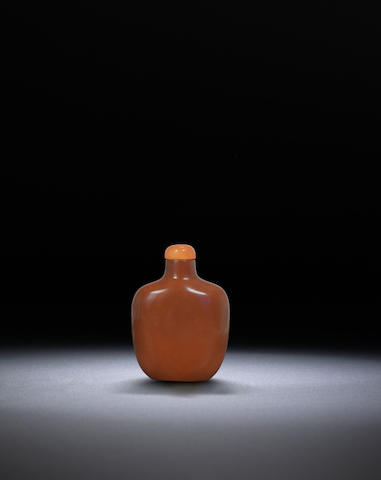 A chert snuff bottle Qing dynasty