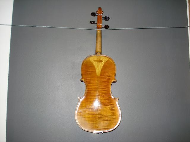 A Violin by Perry and Wilkinson, Dublin 1820 (2)