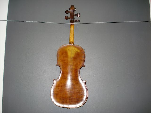 An English Violin by Charles and Samuel Thompson, London, circa 1780 (3)