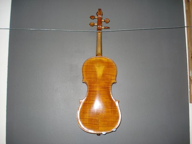 A Violin, English School circa 1800 (4)