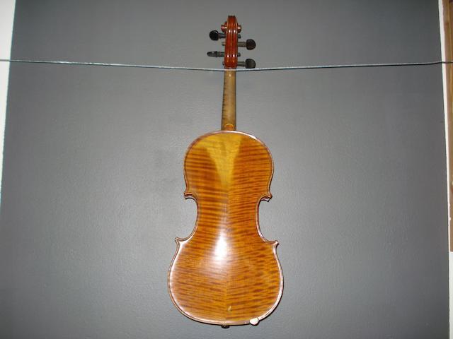 A Mirecourt Violin circa 1900 (2)