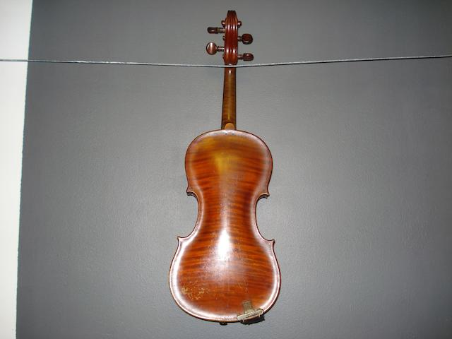 A French Violin of the Caussin Vosges School circa 1900 (2)
