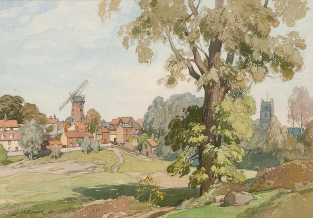 Leonard Russell Squirrell, R.W.S., R.I., R.E. (British, 1893-1979) Woodbridge