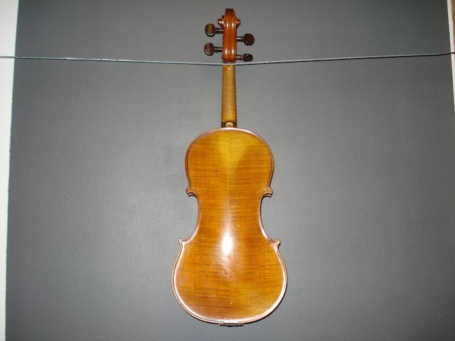 An Scottish Violin by George Haxton, Glasgow, 1919 (2)
