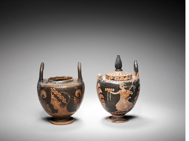 Two Greek red-figure lebes gamikoi 2