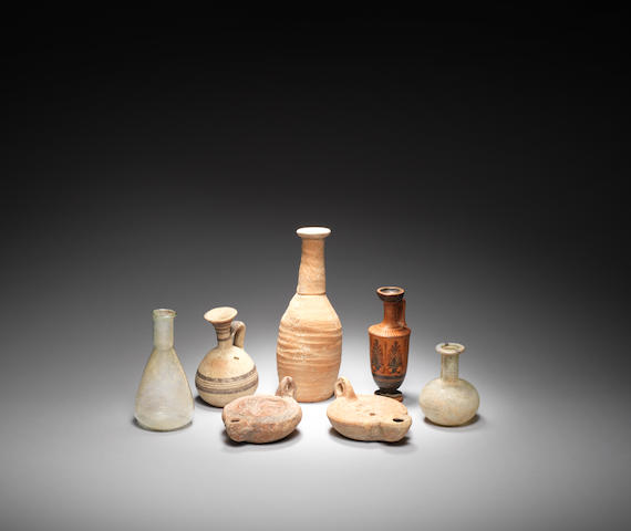 A miscellanous group of antiquities 7