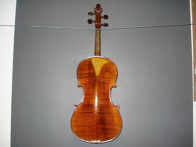 A Mirecourt Viola by JTL circa 1900 (1)