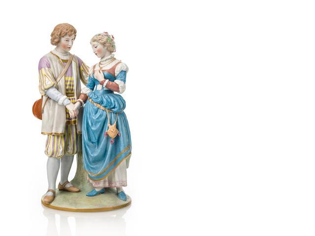 IPF, Porcelain figure, Shptz