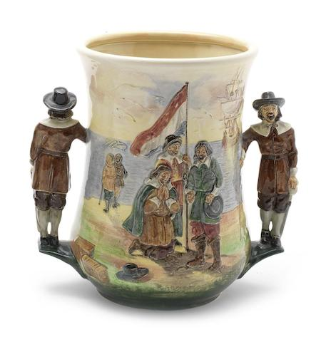 Doulton Burslem 'Jan Van Riebeeck' a Loving Cup, 1935