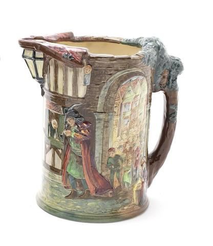 Doulton Burslem 'The Pied Piper' a Commemorative Jug, 1937