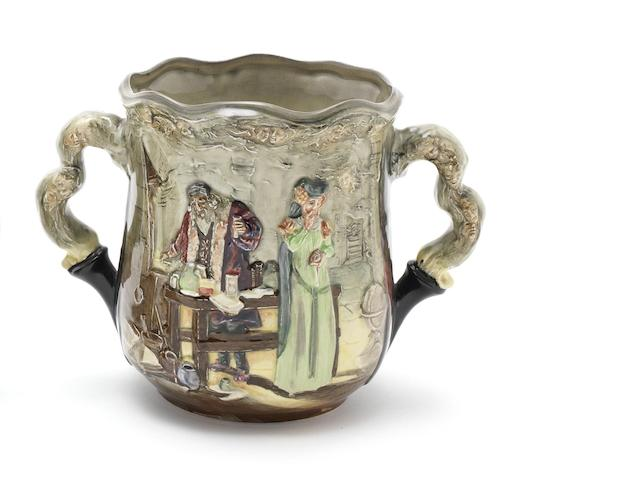 Doulton Burslem 'The Apothecary' a Loving Cup, 1934