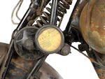 1925 Brough Superior 885cc SS80 Frame no. 321 Engine no. 36431