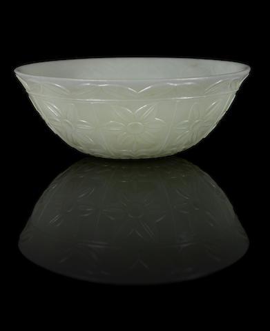 A jade bowl
