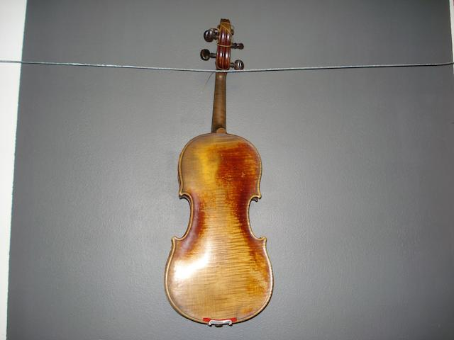 A Mittenwald Violin of the Hornsteiner School, circa 1790 (3)