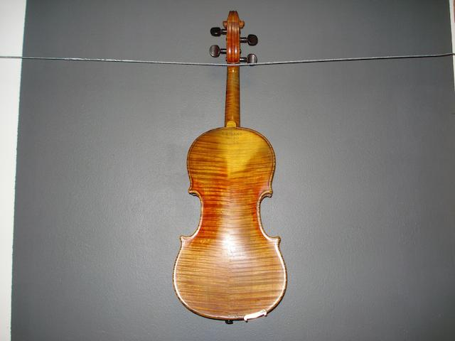 A Violin of the Dotsch, Berlin School, circa 1910 (2)