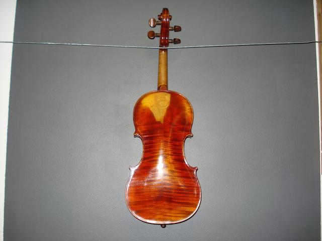 A French Violin attributed to Rene Bailley Fils, 1945  (1)