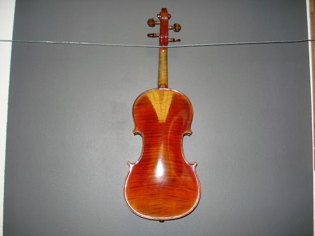 A French Violin Blondelet School,  (1)