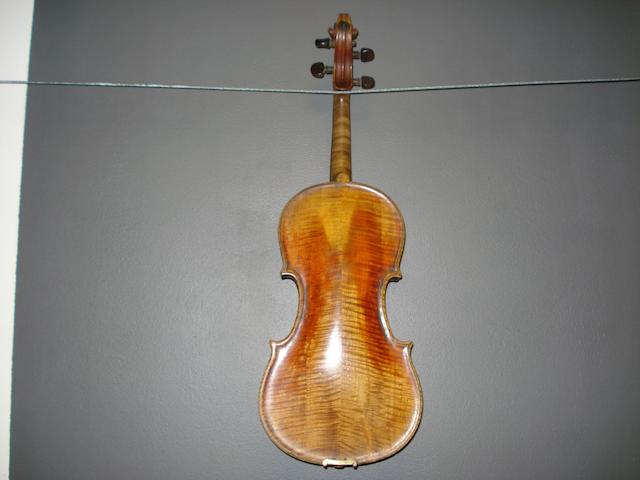 A Mirecourt Violin, Caussin School, circa 1880 (3)