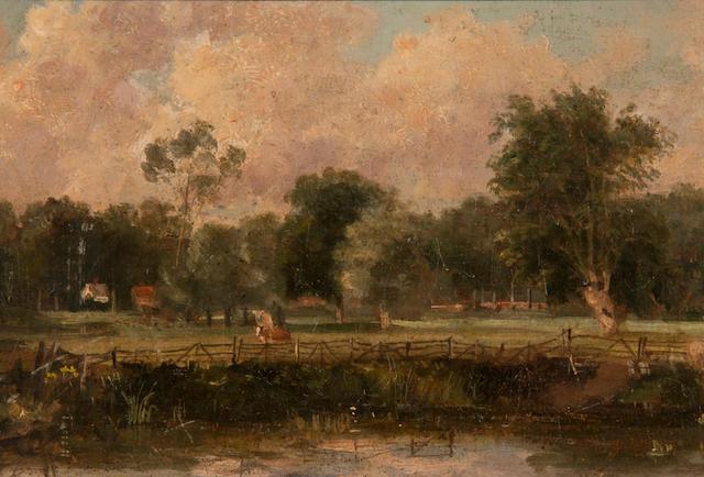 Thomas Churchyard (British, 1798-1865) 'Ufford Meadows'