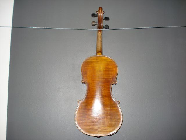 A French Violin of the Caussin School circa 1880 (3)
