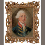 Gainsborough Dupont (British, 1754-1797) Portrait of George III