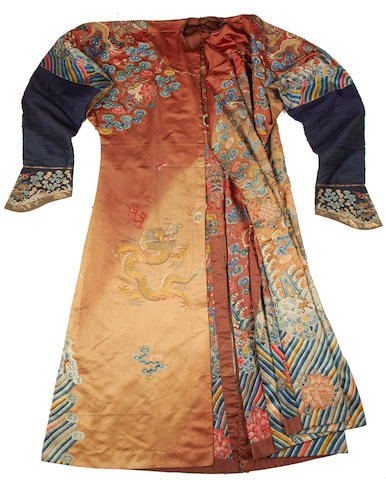 "A ""dragon"" robe, 19th century"
