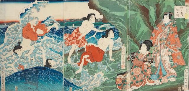 Tsukioka Yoshitoshi (1839-1892) Late 19th century
