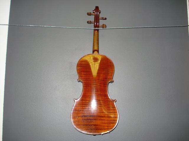 A French Violin by J.T.L. Paris, circa 1900  (3)