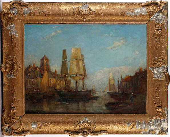 After Eugene Boudin Carteret